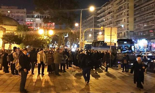 Συλλαλητήριο  Αναχώρησαν τα πρώτα λεωφορεία από Θεσσαλονίκη ... 472cc5bc4b3