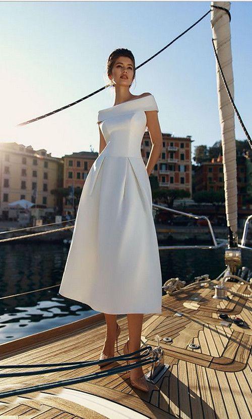 e121f80c36a Τα πιο κομψά φορέματα για τον πολιτικό σας γάμο - trikalaidees.gr ...